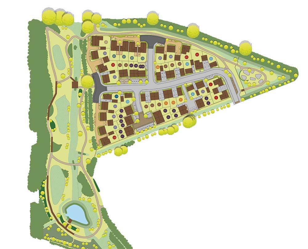 42The Gadwall Siteplan