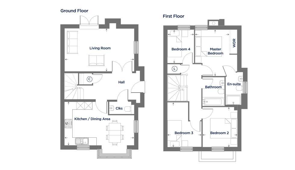 The Acacia – Plot 71 Floor plan