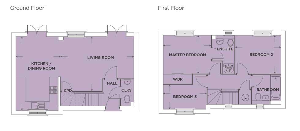 The Aldenham – Plot 423 Floor plan