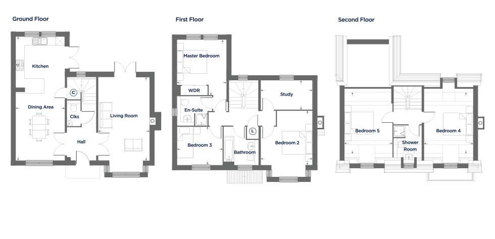 The Amarath – Plot 66 Floor plan