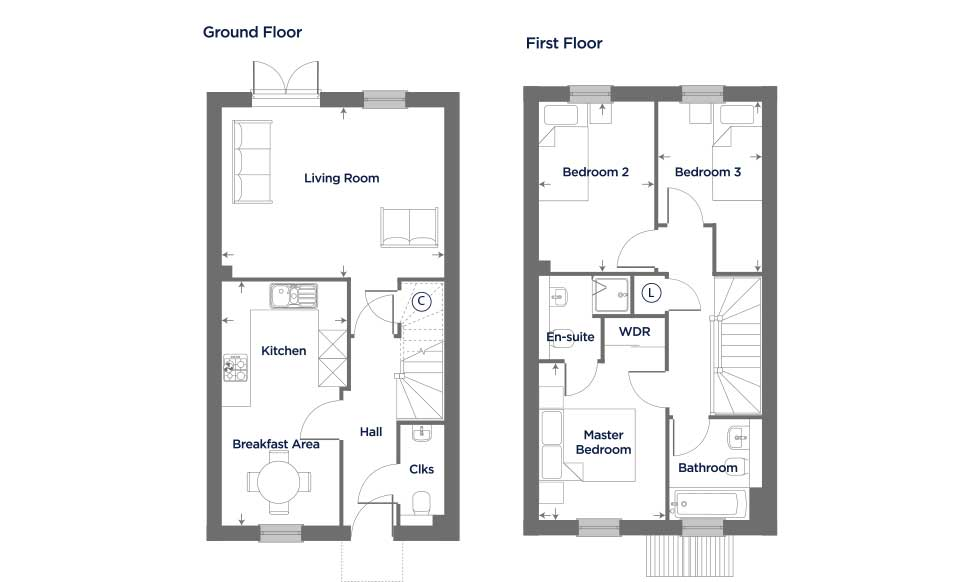 The Canterbury – Plot 74 Floor plan