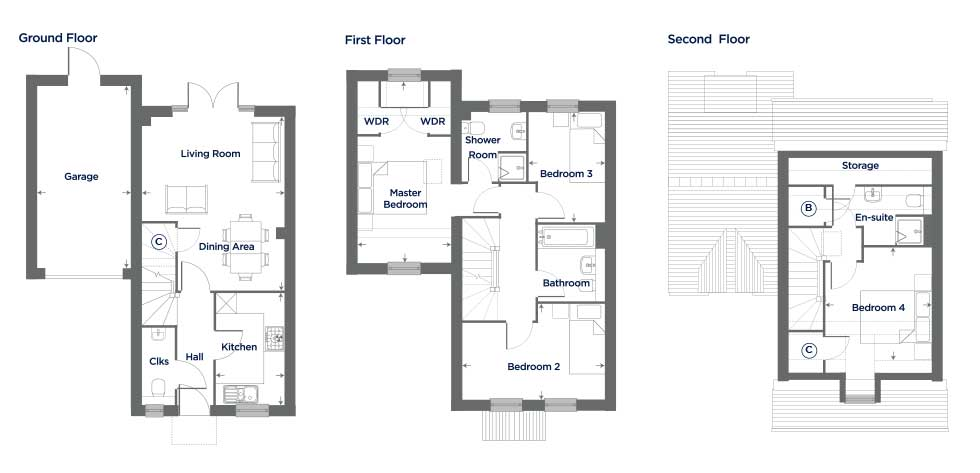The Foxglove – Plot 35 Floor plan
