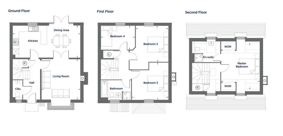 The Heather – Plot 59 Floor plan