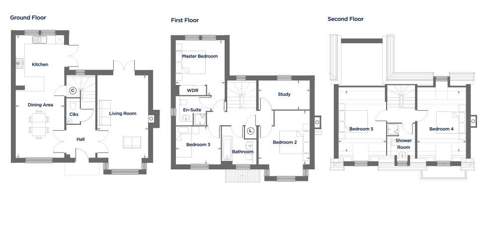 The Mantle – Plot 62 Floor plan