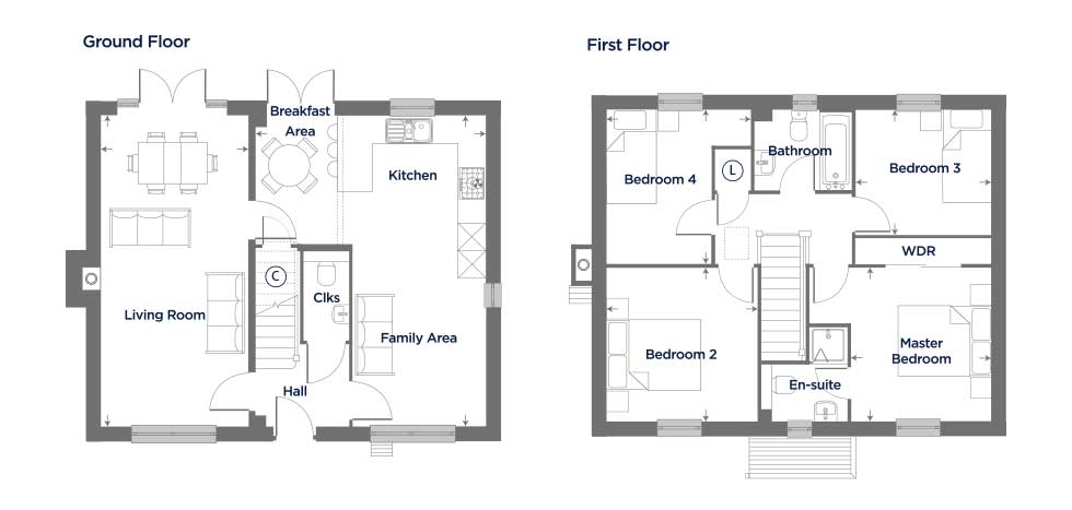 M159 – The Teasel Floor plan