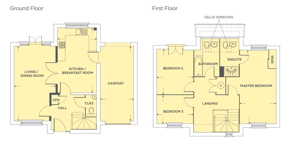 The Buckingham – Plot 415 Floor plan