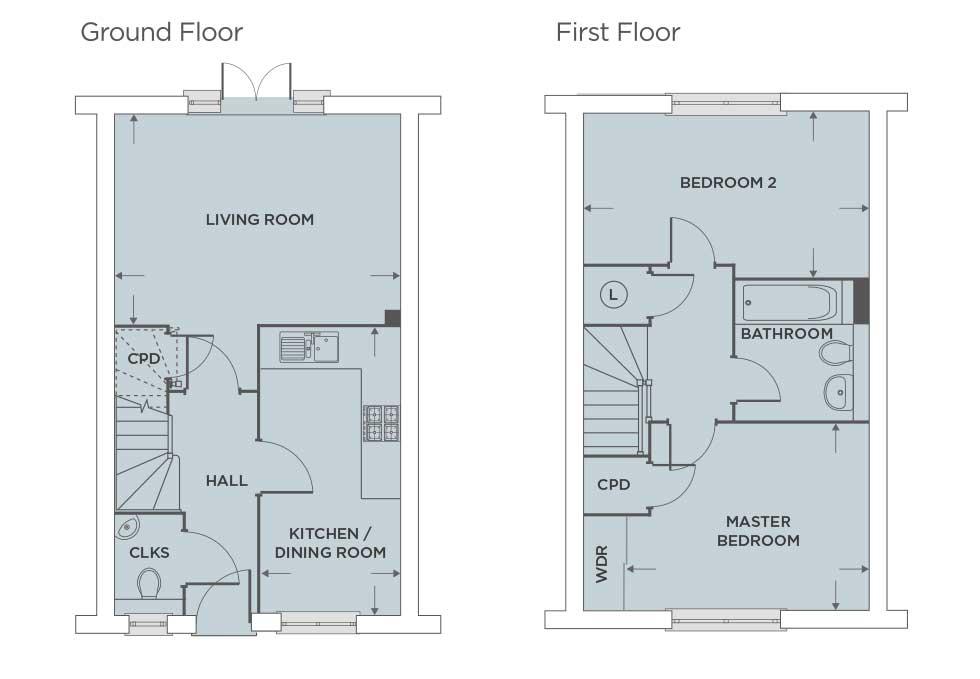The Leighton – Plot 399 Floor plan