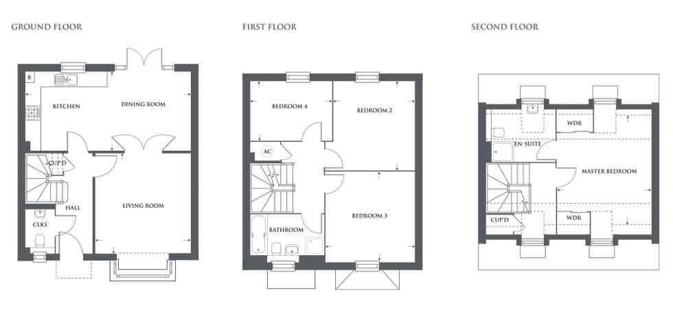 The Emberton – Plot 450 Floor plan