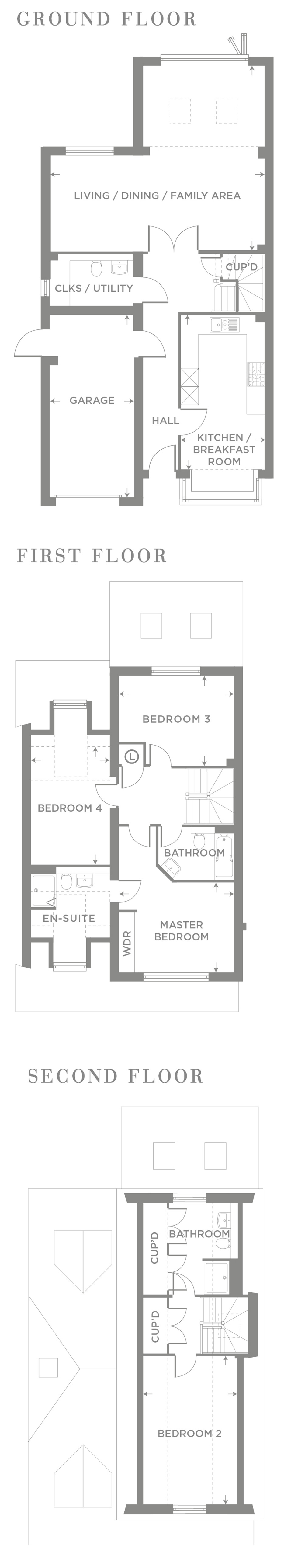 The Birch – Plot 6 Floor plan