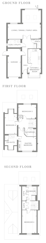 The Birch – Plot 6 Floor plan