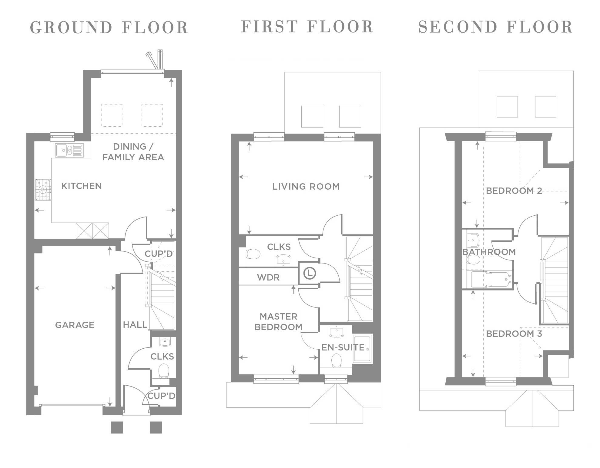 The Willow – Plot 8 Floor plan