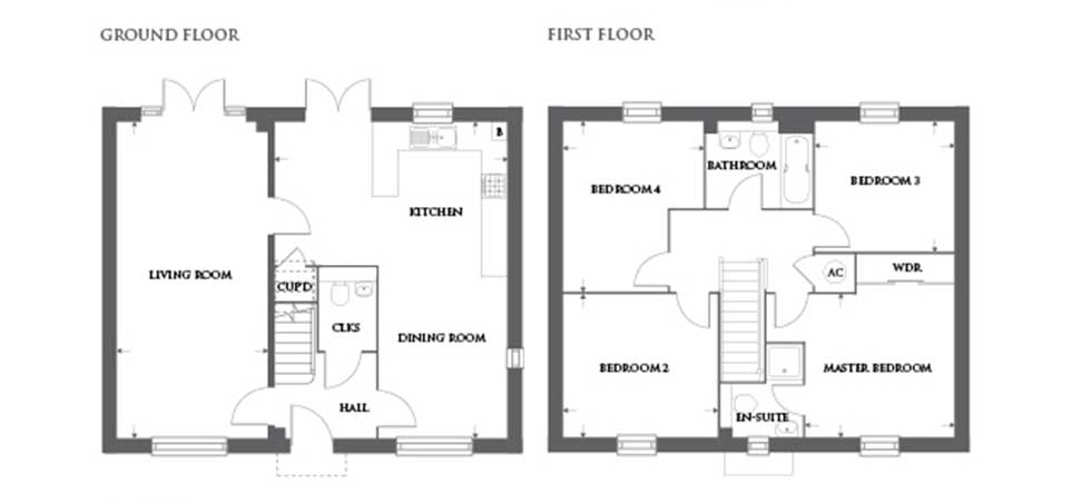 Plot 461 – The Linton Floor plan
