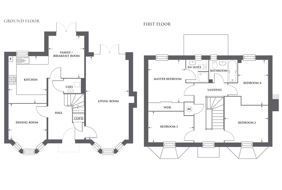 Plot 463 – The Langford Floor plan