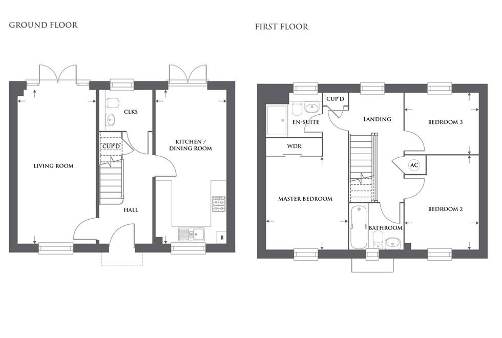 Plot 468 – The Elstow Floor plan