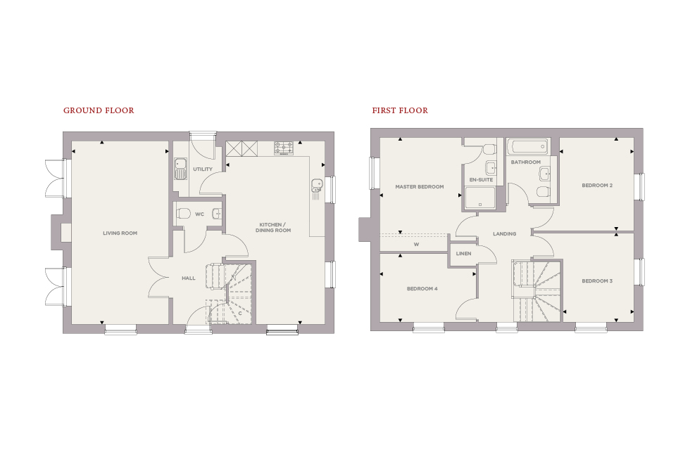 Plot 92 – The Aspen Floor plan