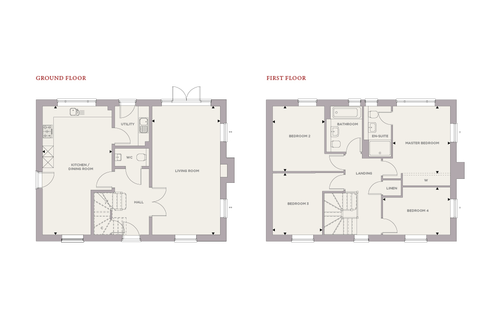 Plot 23 – The Birch Floor plan