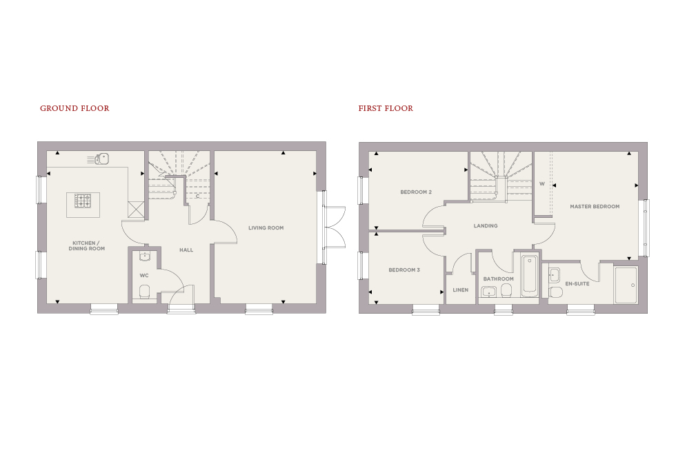 Plot 84 – The Chestnut Floor plan