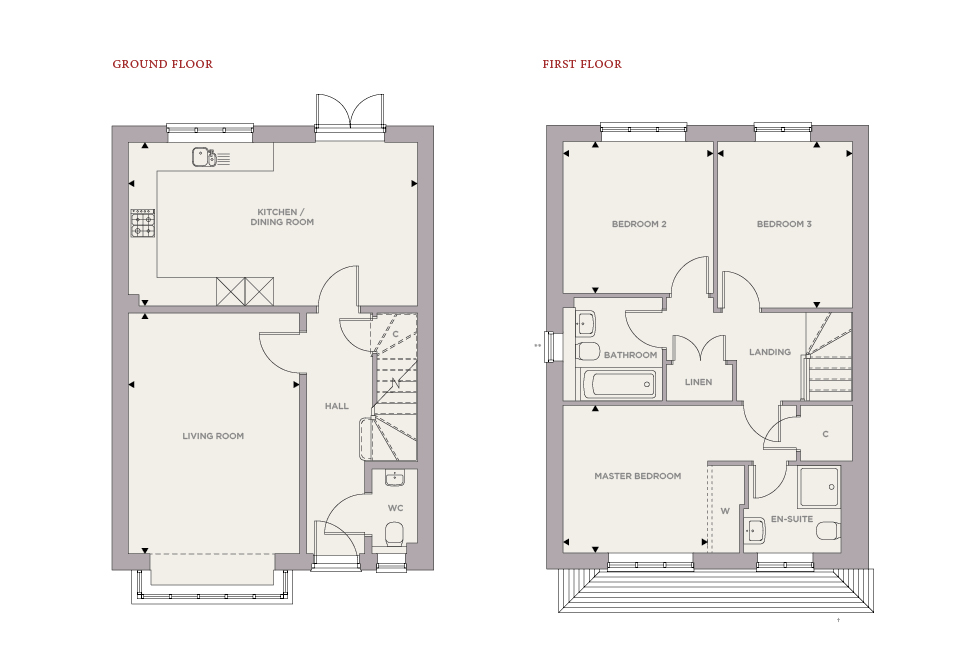 Plot 13 – The Dove Floor plan