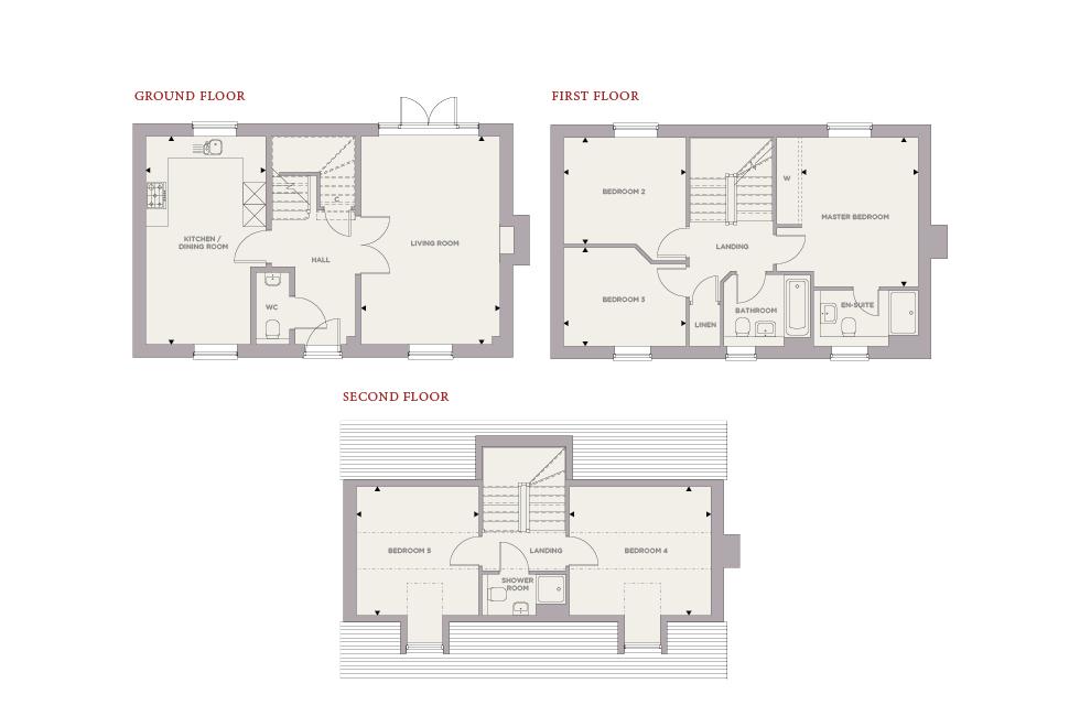 Plot 38 – The Elm Floor plan