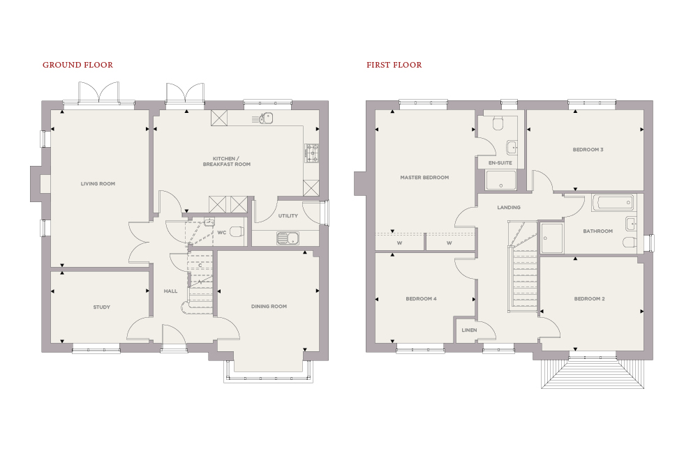 Plot 34 – The Grayling Floor plan