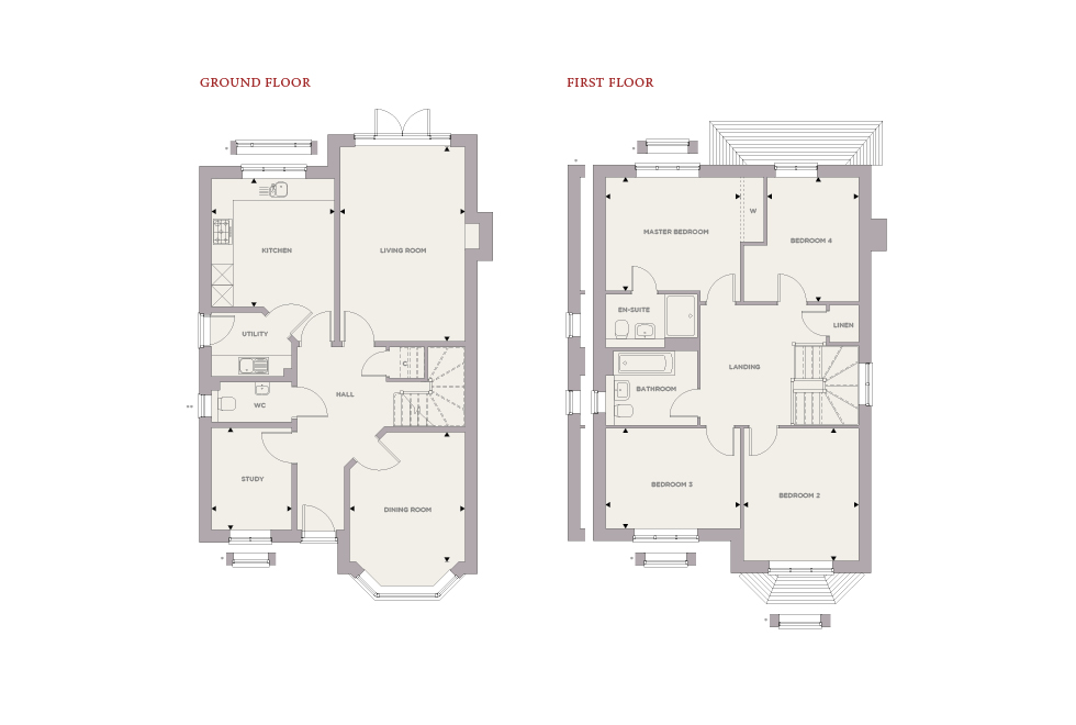 Plot 11 – The Hawthorne Floor plan
