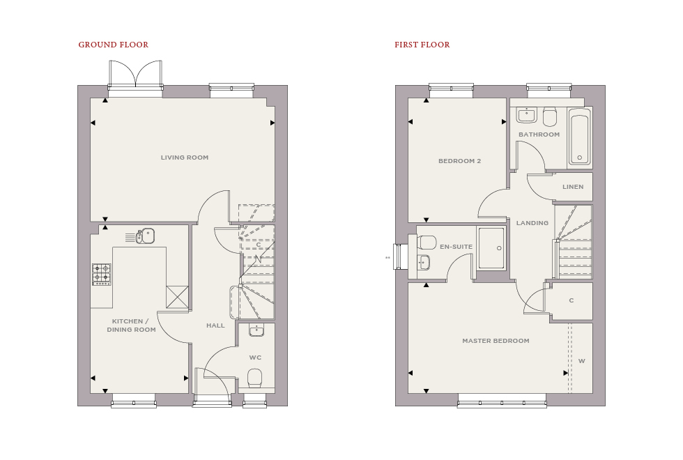 Plot 94 – The Heron Floor plan