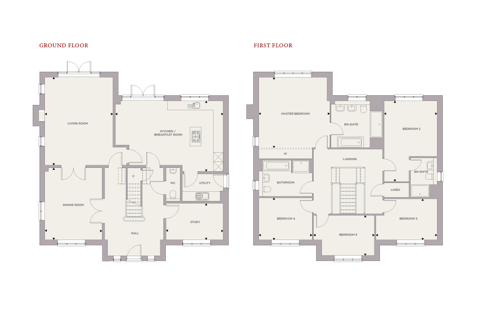 Plot 10 – The Lavender Floor plan