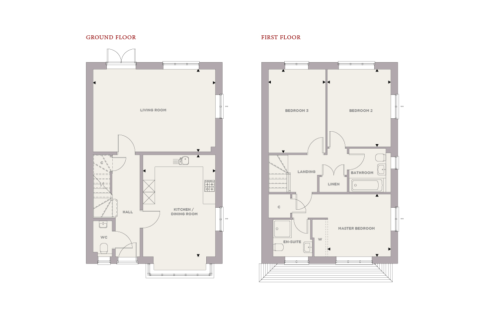 Plot 88 – The Pine Floor plan