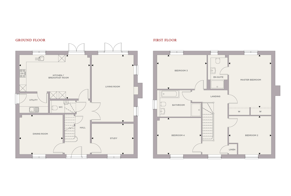 Plot 9 – The Yew Floor plan
