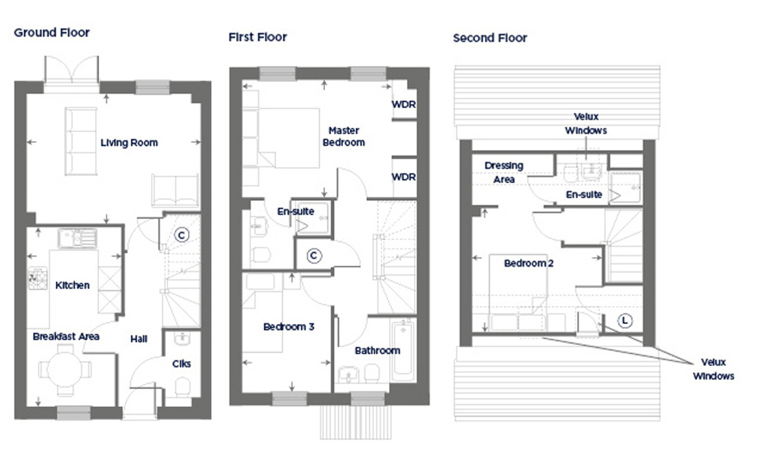 Plot 103 – The Arum Floor plan