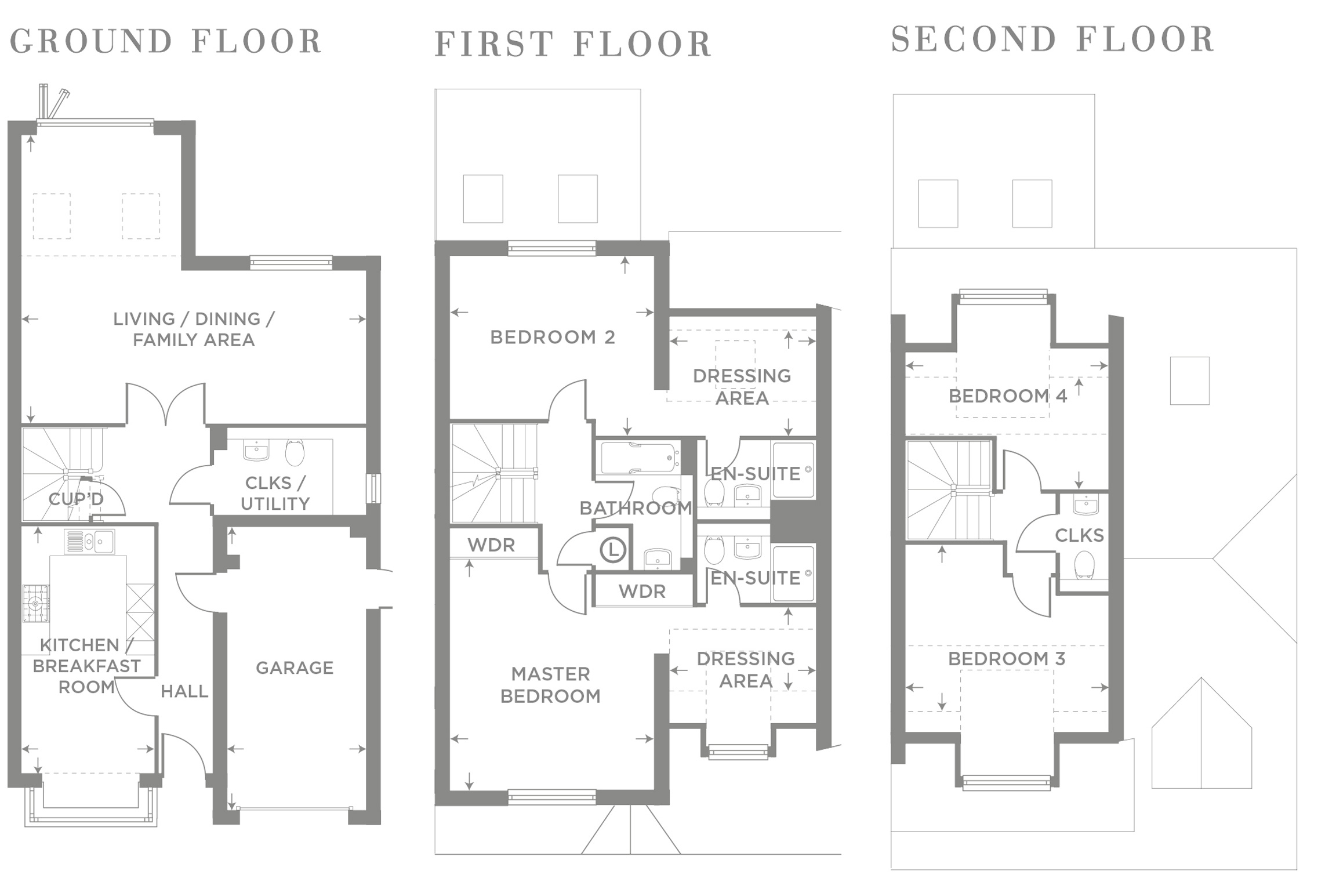 Only Three Homes Remaining at Summerswood, Ifield Floor plan