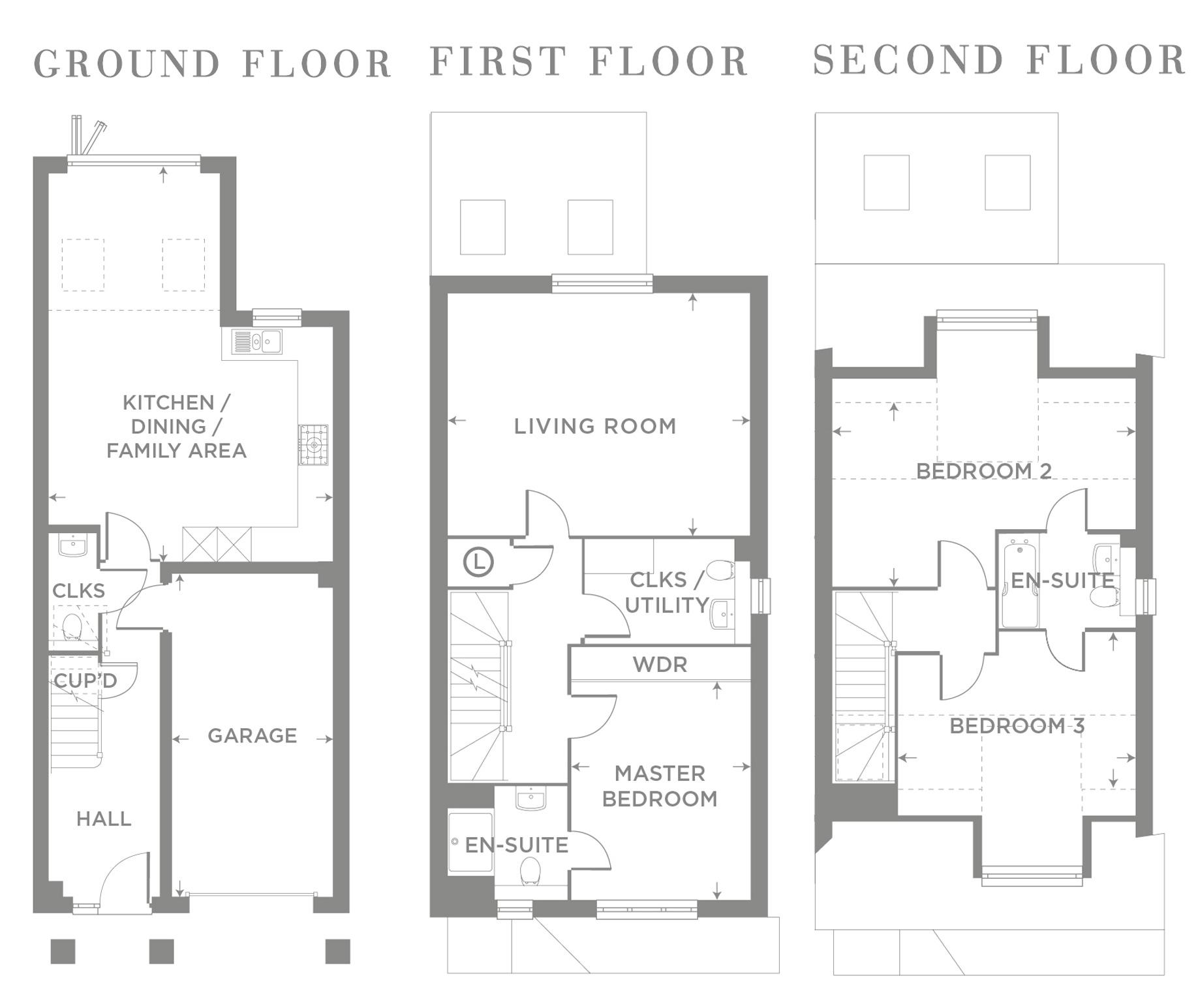 Plot 19 – The Alder Floor plan