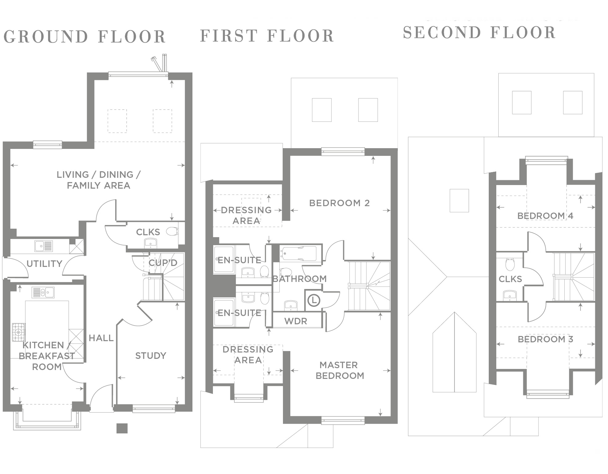 Plot 18 – The Pine Floor plan