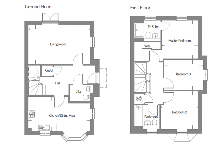 Plot 62 – The Brooklime Floor plan