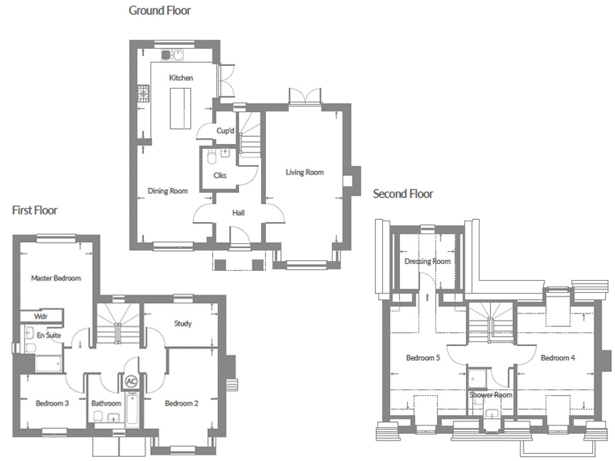 Plot 7 – The Easton Floor plan