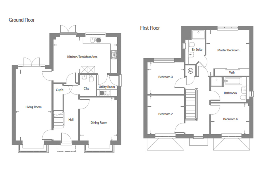 Plot 11 – The Pine Floor plan