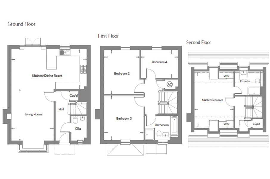 Plot 37 – The Stortford Floor plan