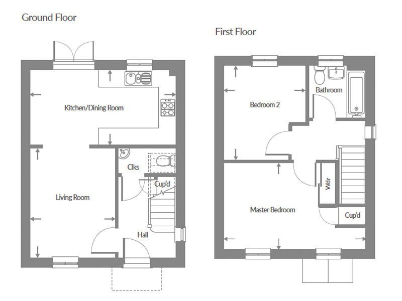 Plot 51 – The Timber Floor plan