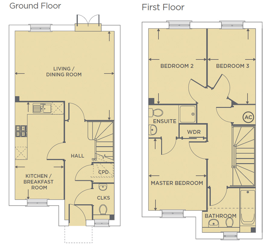 Plot 554 – The Cassin Floor plan