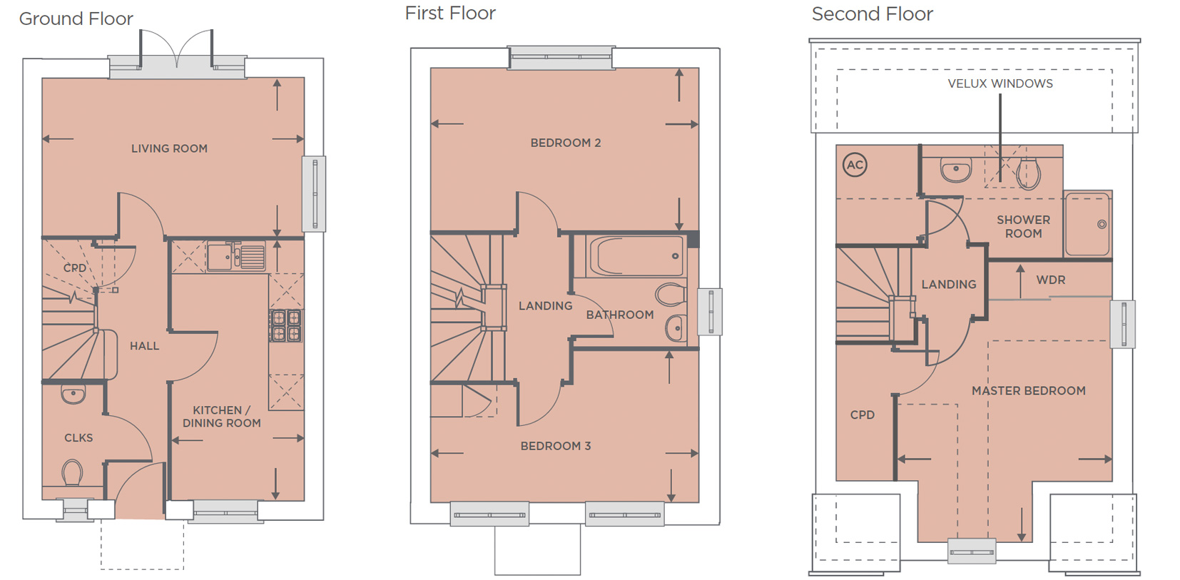 Plot 558 – The Franklin Floor plan