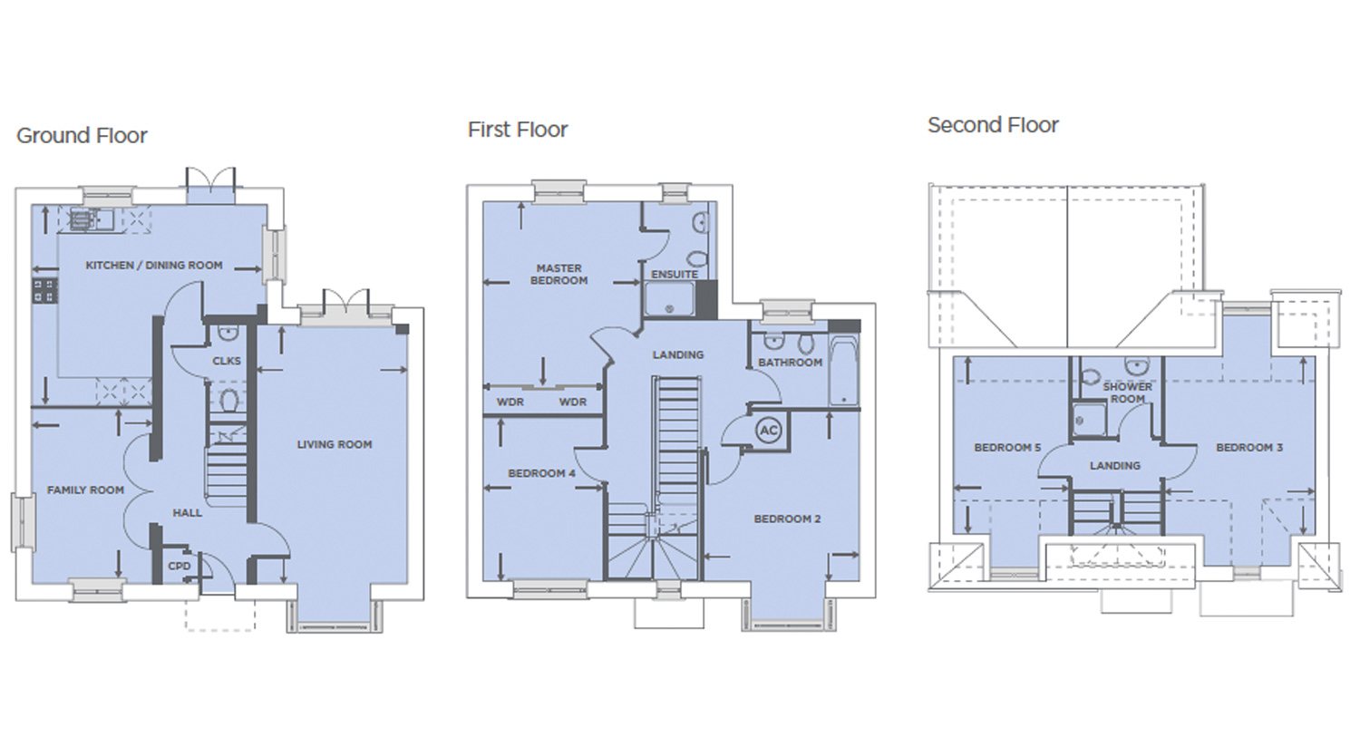Plot 548 – The Swainson Floor plan