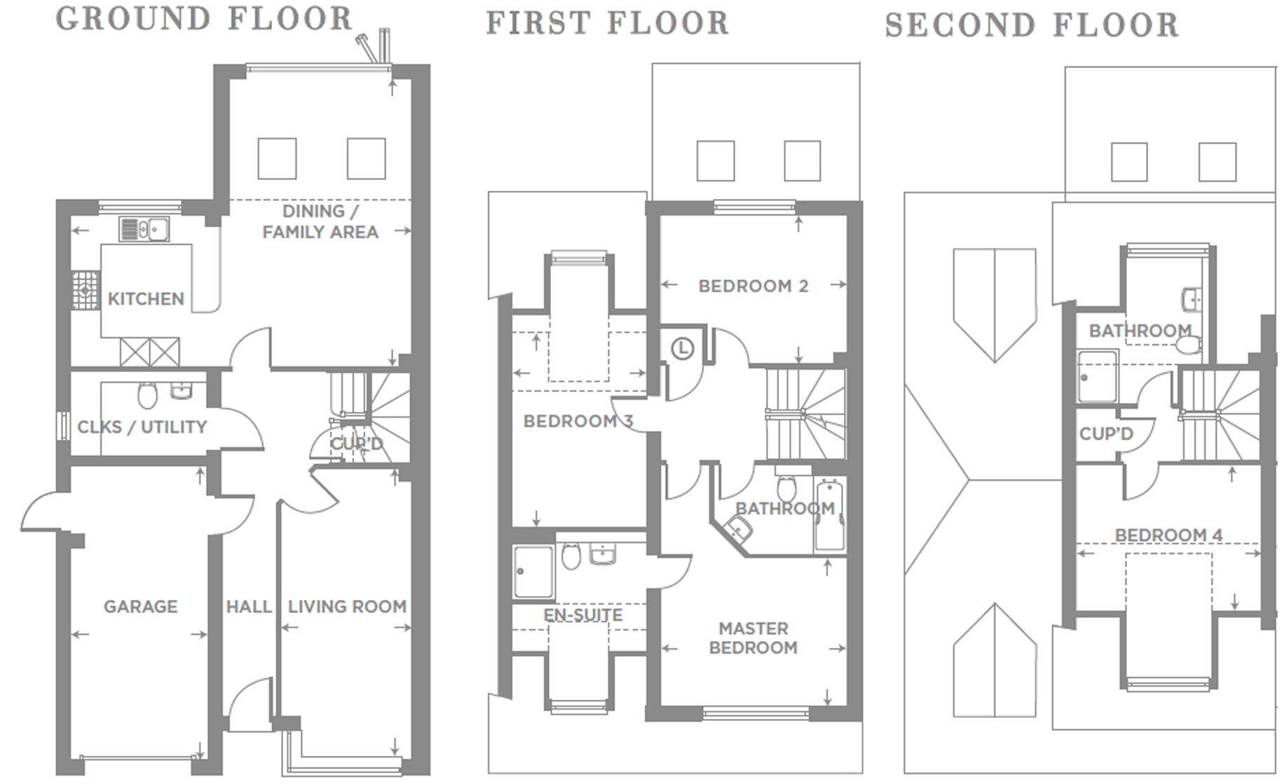 Plot 23 – The Yew Floor plan