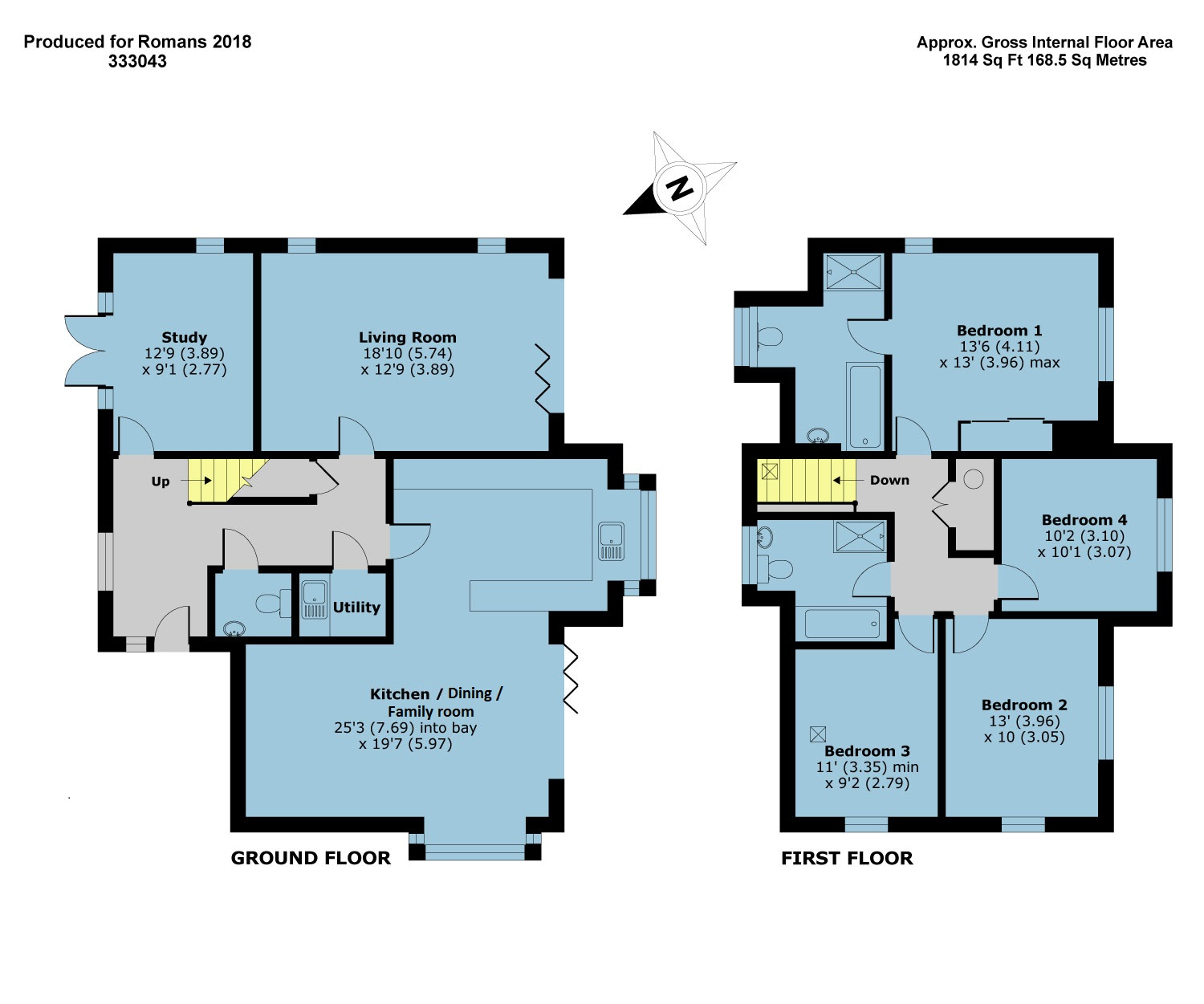 Plot 2 – The Windermere Floor plan