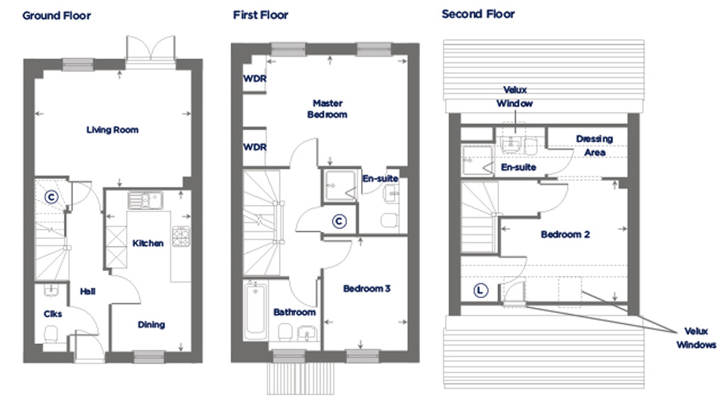 Plot 187 – The Arum Floor plan