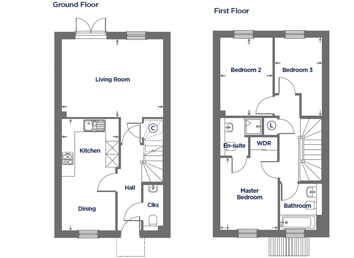 Plot 172 – The Canterbury Floor plan
