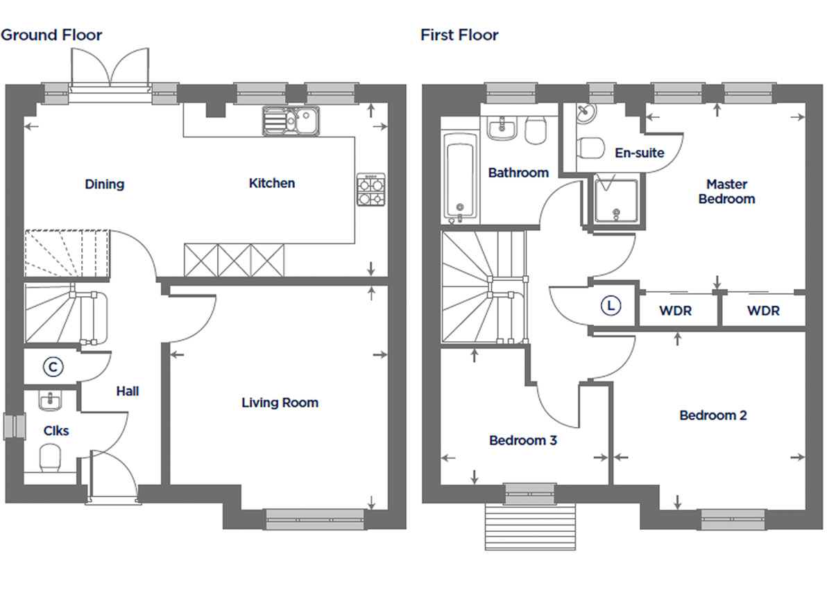 Plot 149 – The Columbine Floor plan