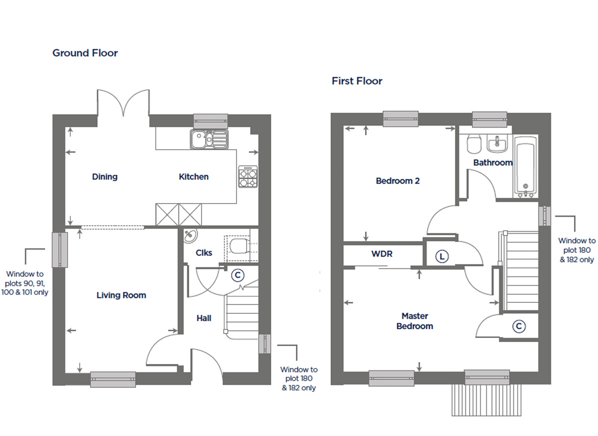Plot 182 – The Gorse Floor plan