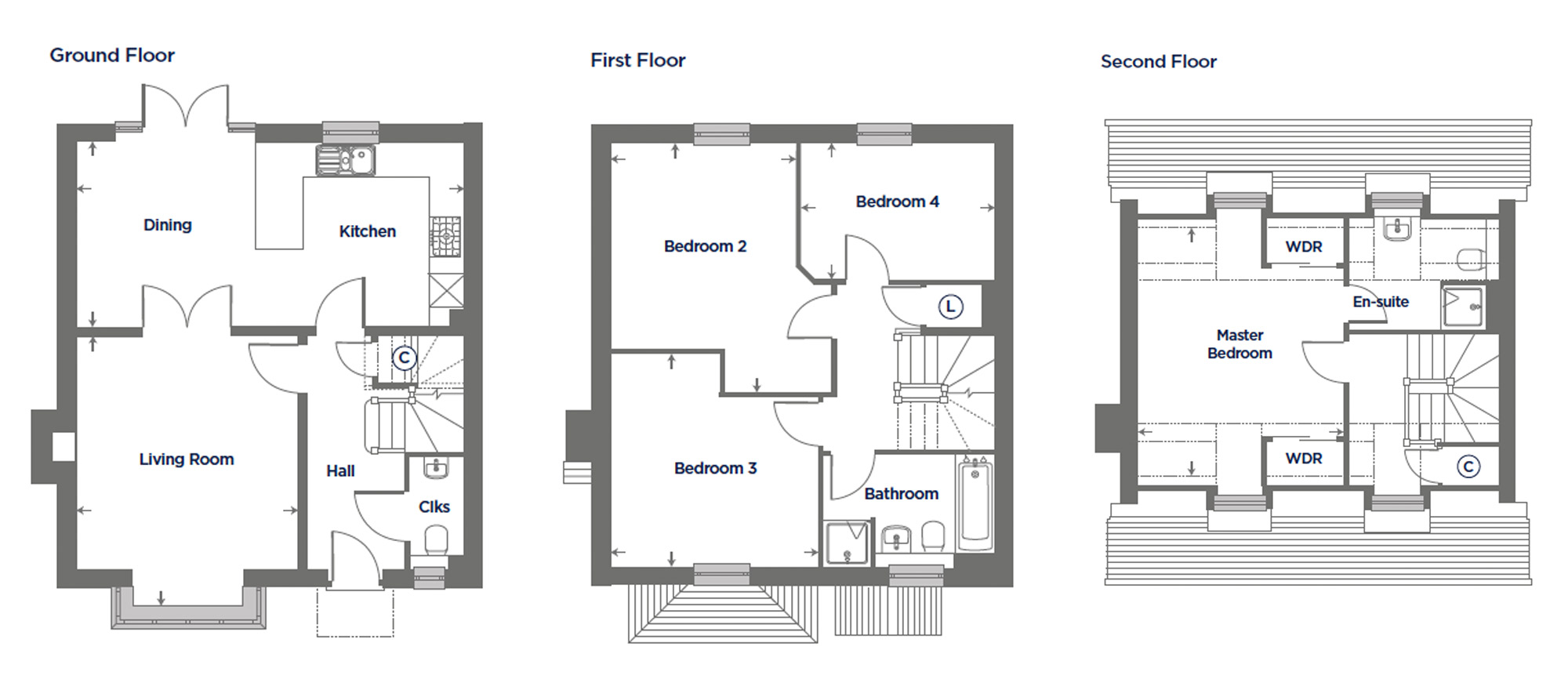 Plot 167 – The Harebell Floor plan