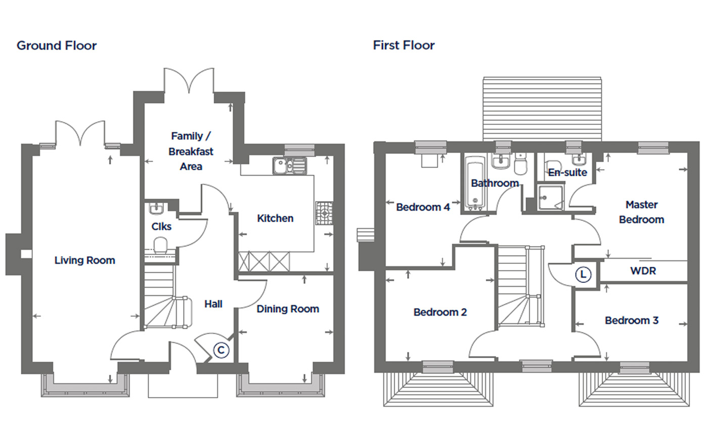 Plot 164 – The Orchid Floor plan
