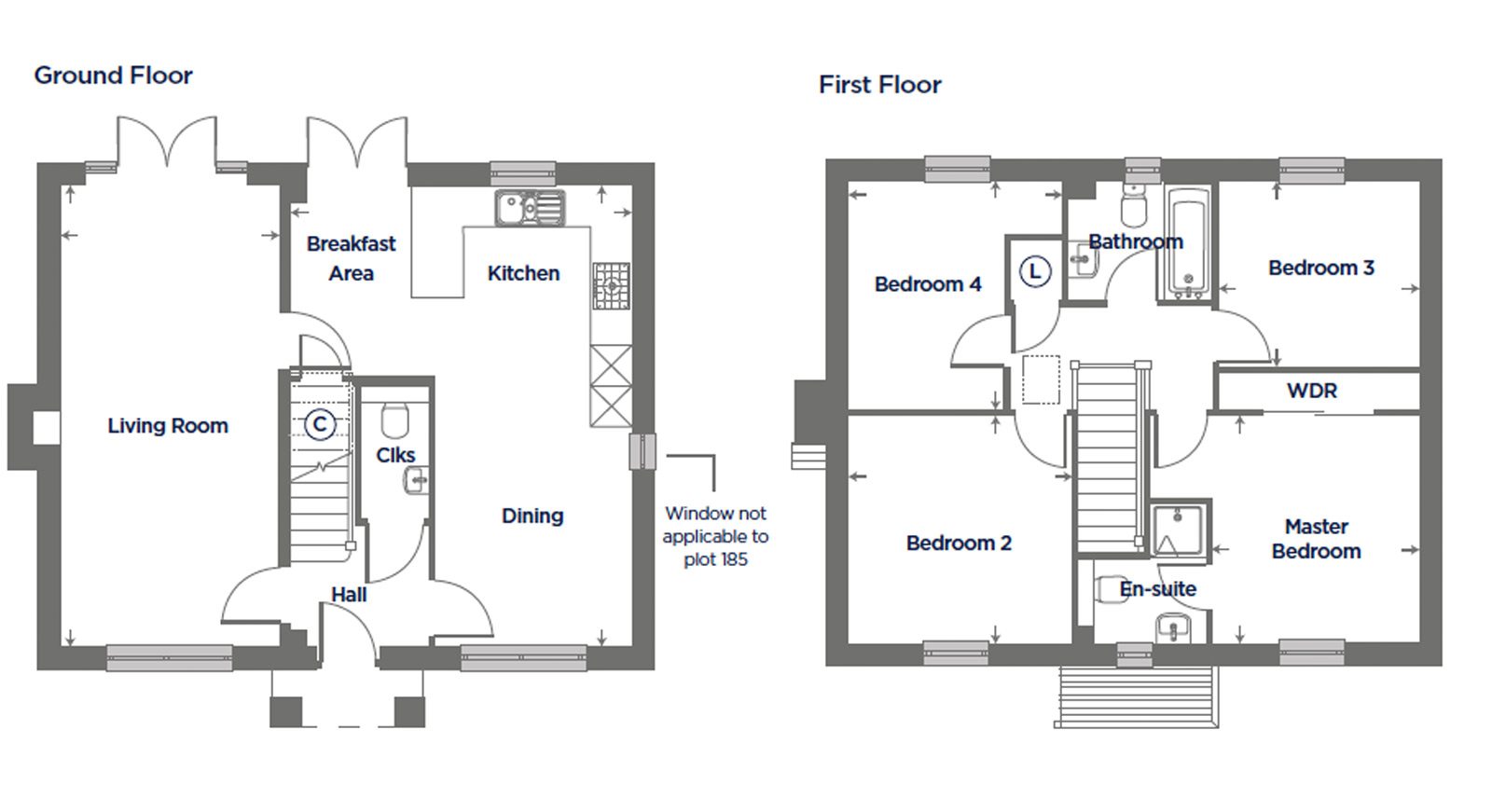 Plot 153 – The Teasel Floor plan